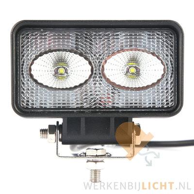 20 watt werklamp rechthoekig