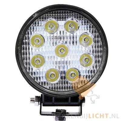 27 watt werklamp rond
