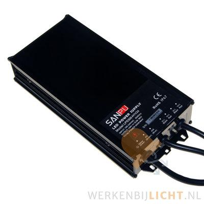 Waterdichte 24 volt DC 300W led voeding