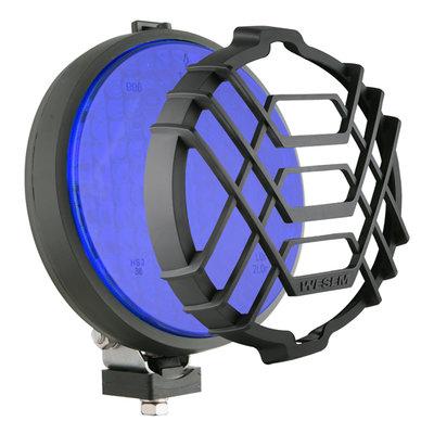 Werklamp Halogeen Blauw