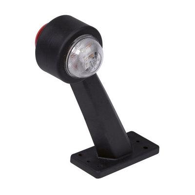Breedtelamp LED schuin lang 10-30V