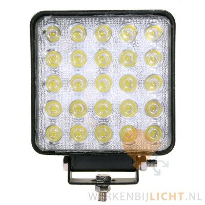 75W LED werklamp vierkant