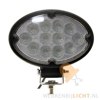 36W LED ovale breedstraler