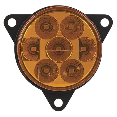 LED richtingaanwijzer achterkant rond
