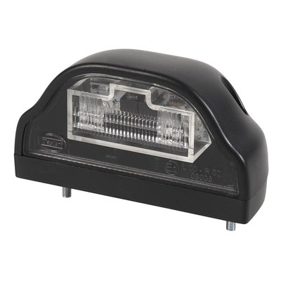 LED Kentekenverlichting Zwart