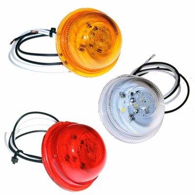 LED breedtelamp unit rood, wit of amber