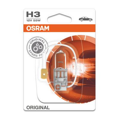 Osram H3 12V Halogeen Lamp PK22s Original Line