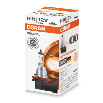 Osram H11 Halogeen Lamp 12V PGJ19-2 Original Line