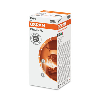 Gloeilamp SV8.5-8 24V 5W Osram Original