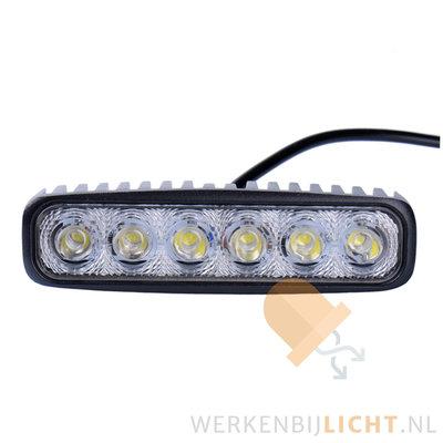 18W LED werklamp rechthoekig