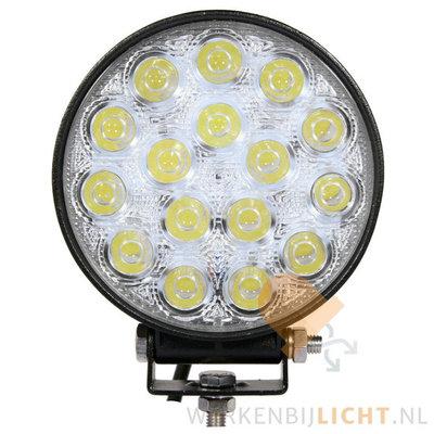 48W LED Werklamp Rond