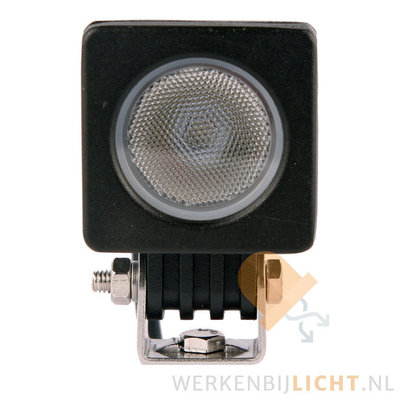 10W LED Breedstraler Vierkant