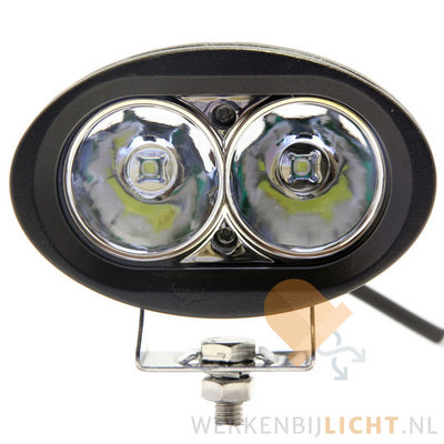 20W LED Verstraler Ovaal