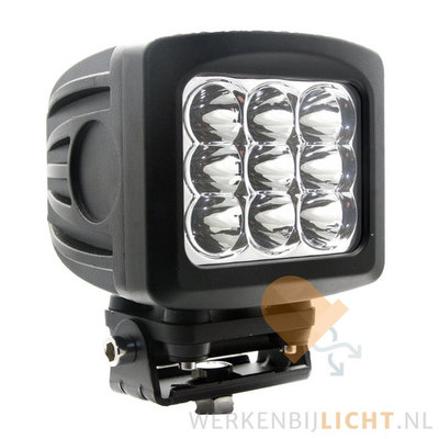 90W LED werklamp 10° 9000LM