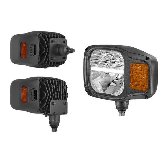 LED Koplamp Met Richtingaanwijzer AMP-Superseal Links K7