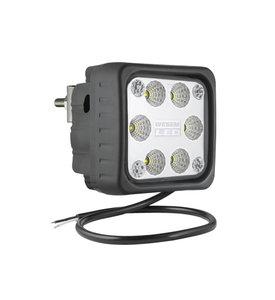 LED Werklamp Breedstraler 2500LM + Achtermontage
