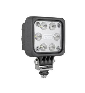 LED Werklamp Verstraler 1500LM + AMP Faston voorkant