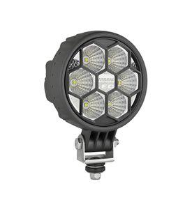LED Werklamp Breedstraler 2500LM + Kabel voorkant