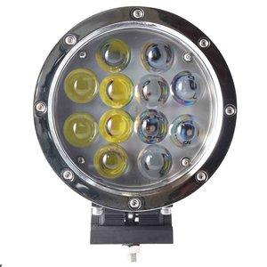 60W LED verstraler Chroom