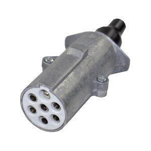 24V 7-Polige Stekker Aluminium Type S