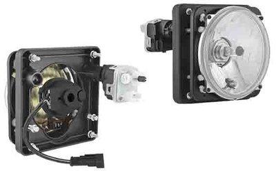 koplamp Ø139/131x75, H4, Elektrisch verstelbaar