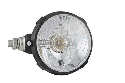 koplamp Ø161x115, H4, plastic, links