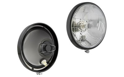 koplamp, H4, Ø150 142x86 R12,5