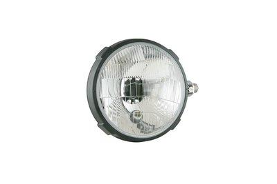 koplamp, H4, Ø161x112 Plastic