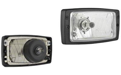 koplamp, H4, 156x93x79 + Frame