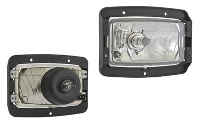 koplamp, H4, 156x93x79, Frame Montage