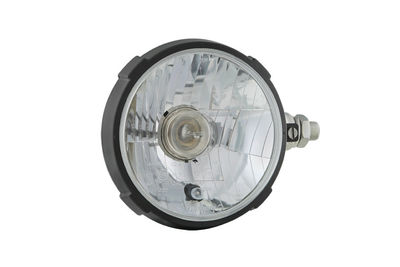 koplamp Ø161x115, H4, plastic, rechts