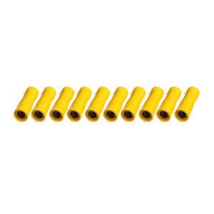Rondstekerhuls Geïsoleerd Geel (4-6mm)