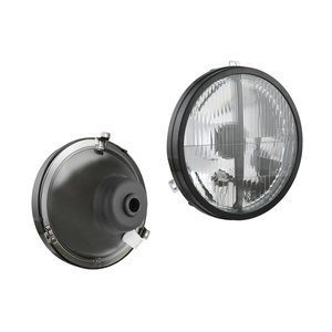 Koplamp VW Transporter Tuning, Lampglas: Ø182mm