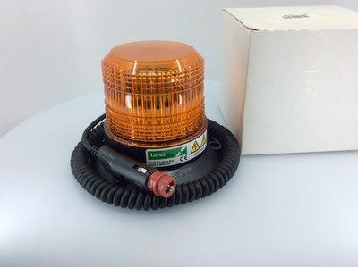 Lucas Xenon Flitslamp Magneet + Spiraalkabel