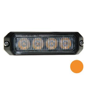 LED flitser 4-voudig compact Oranje