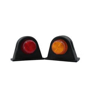 Set LED Breedtelampen 10-30V Oranje + Rood (Set)