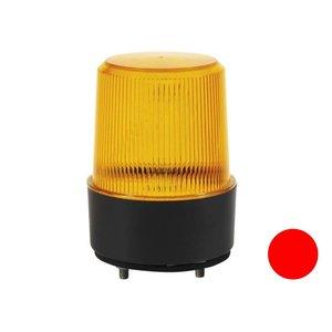 Led flitslamp Vlakke Montage Rood