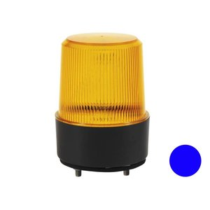 Led flitslamp Vlakke Montage Blauw