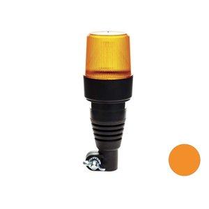 Oranje Led flitslamp Met Flexibele DIN Steun