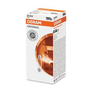 Osram Gloeilamp 24V Original Line SV8.5-8 3W 10 Stuks