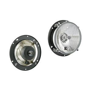 Koplamp H4 Ø182x77 Inclusief 12V Lampjes en Bevestigingsplaat