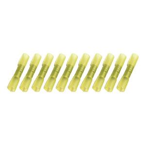 Kabelschoenen Met Krimpkous Waterdicht Geel (4-6mm) 10 Stuks