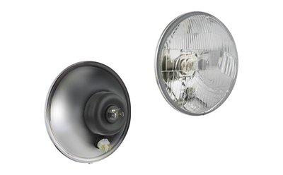 koplamp H4 Ø150x86 Metalen Behuizing