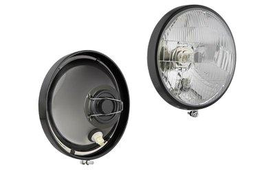 koplamp H4 Ø160x70 + Metalen Frame