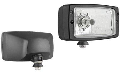 Koplamp H4 184x102x108 Kunststof Behuizing Incl 12V Lampjes
