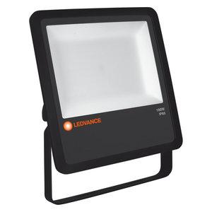 180W LED Bouwlamp 230V Zwart