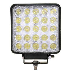 75W LED Werklamp Vierkant Basis