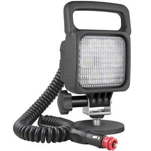 LED Werklamp Breedstraler 1500LM + Kabel + Schakelaar + Sigarettenplug