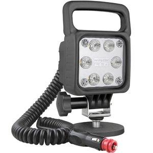 LED Werklamp Verstraler 1500LM + Kabel + Schakelaar + Sigarettenplug