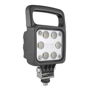 LED Werklamp Breedstraler 2500LM Met Handvat + Deutsch-DT